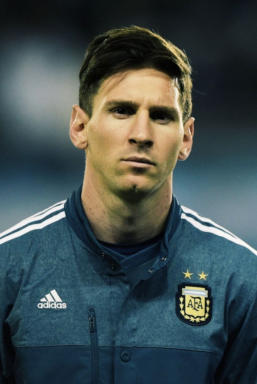 Lionel Messi Hairstyle 2015