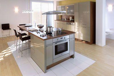 Cuisine avec lot central des mod les de cuisines avec - Cuisine avec ilot central pour manger ...