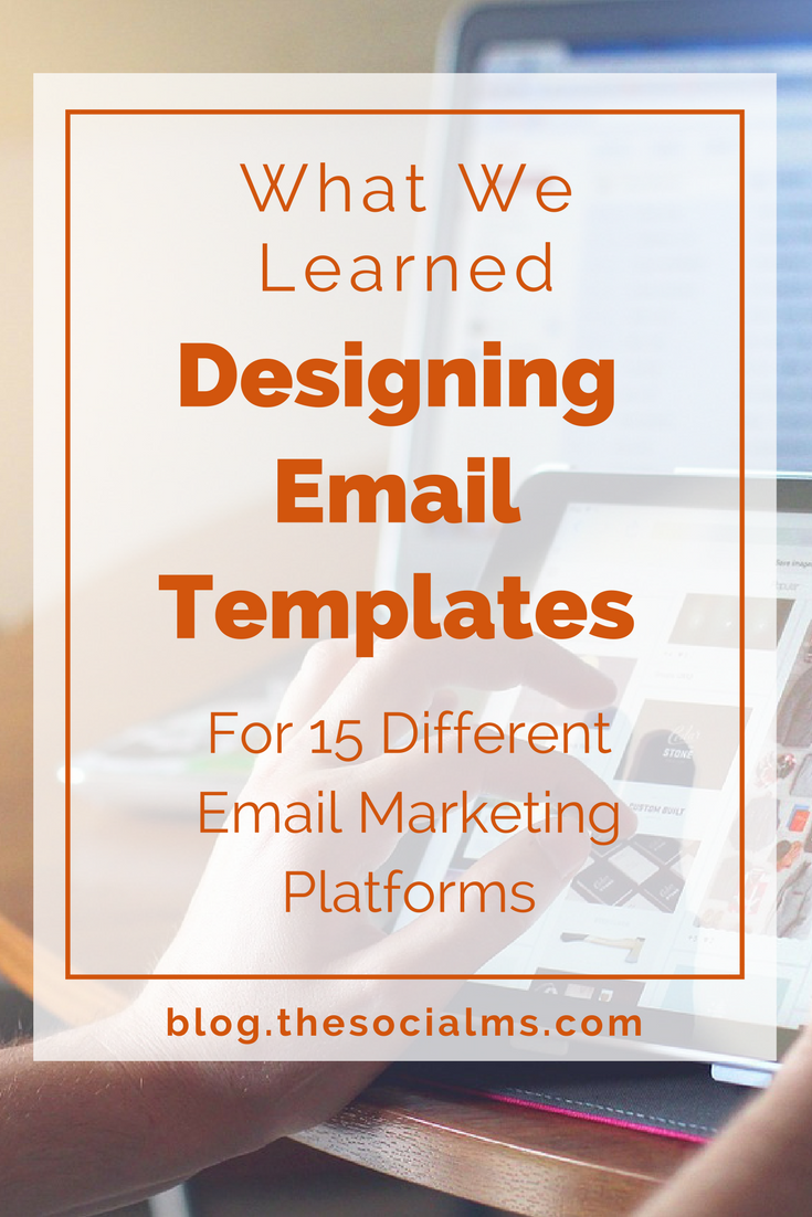 How can you still design great looking email templates  mail mailchimp html newsletter also what we learned designing video marketing rh pinterest