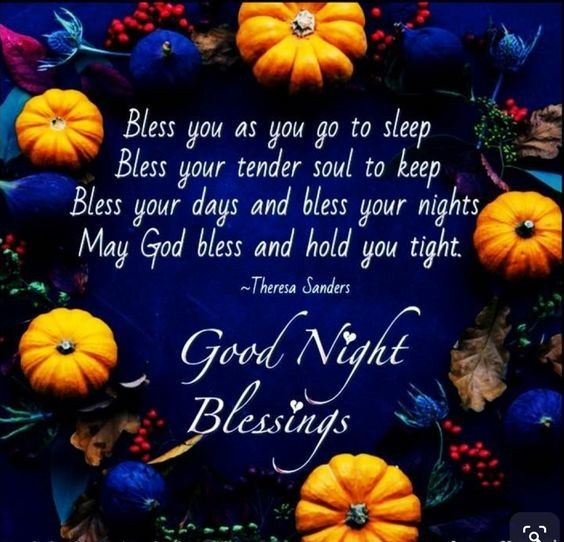 Pin by Virginia Lovell on Good night | Good night blessings