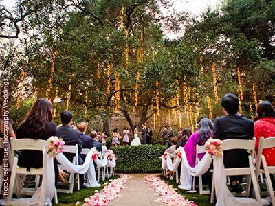 Wedding Calamigos Ranch Malibu California Venues