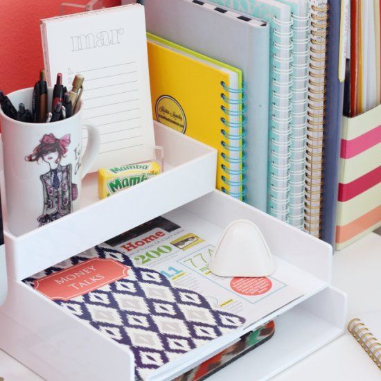 Home Office Design Tips To Stay Healthy: Sharing Ideas On How To Keep You Desk Space Organized