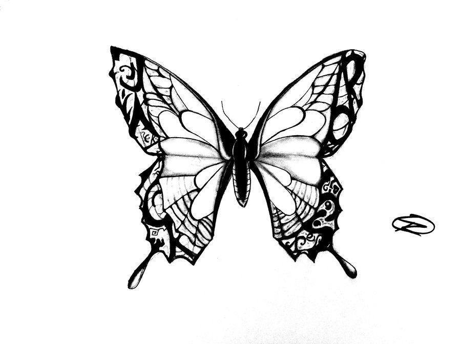 Very Simple Butterfly Tattoo Small Butterfly Tattoo Tattoo Outline Elegant Tattoos
