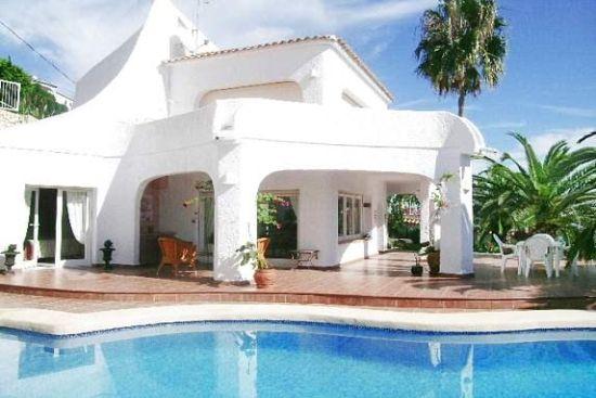 Villa en benissa costa blanca espa a con piscina privada for Villas de vacaciones con piscina privada