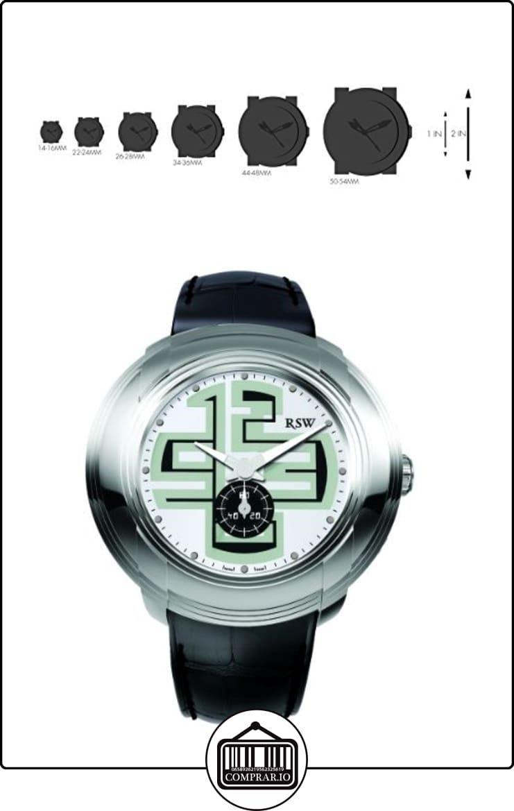 RSW 9130.BS.L1.25.00 - Reloj para hombres, correa de cuero color negro  ✿ Relojes para hombre - (Lujo) ✿