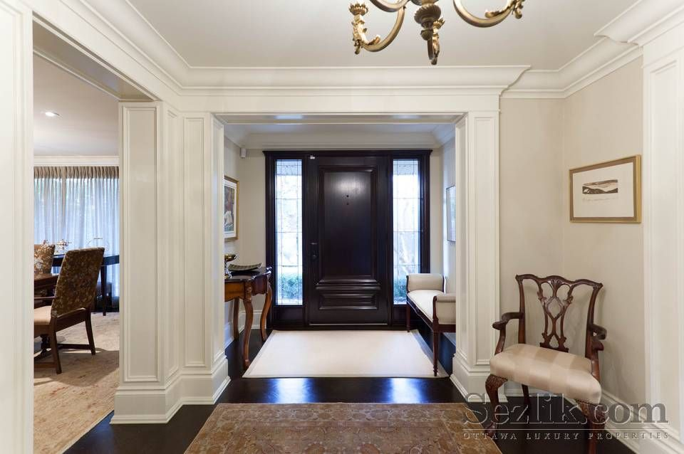 Love The Black Interior Of Front Door For The Future Home