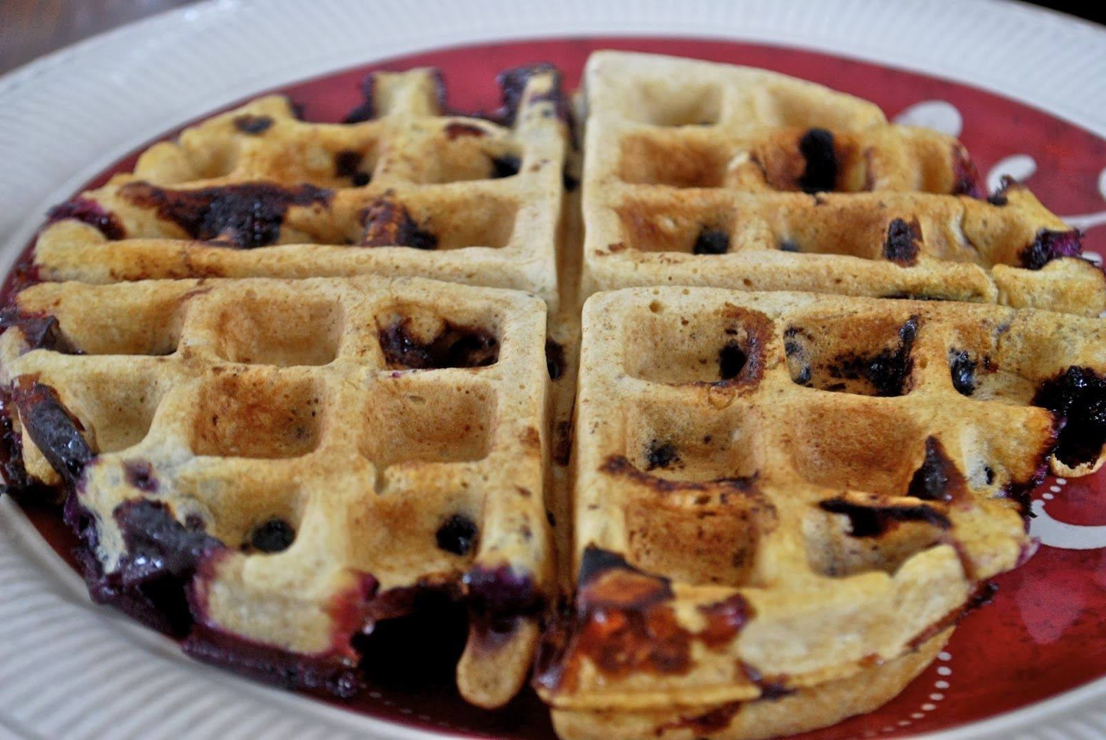 """""""Point-less"""" Meals: Lemon Blueberry Waffles FOR 5 WW points"""