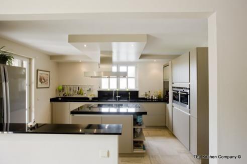 Pin by Anja Baum on Verlaagd plafond Pinterest - moderne offene küche