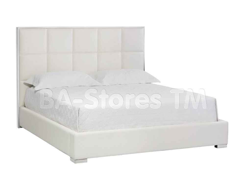 Tompkins Platform Bed in Nobility White by SUNPAN | Beds by SUNPAN ...