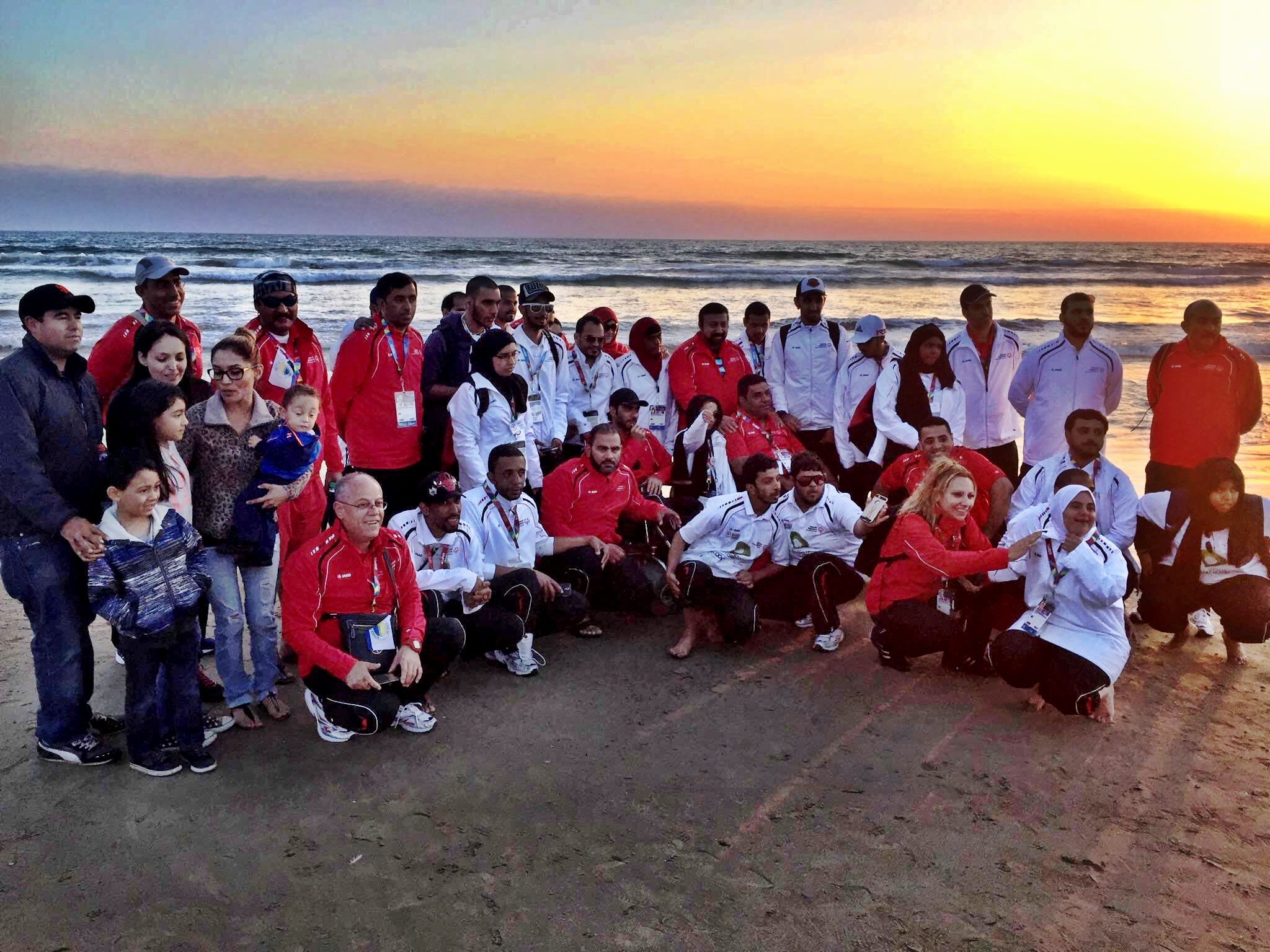 In Honor Of The Special Olympics World Games Los Angeles 2015 Pismo Beach Grover Beach Hosted Over 80 Members From The With Images Grover Beach Pismo Beach Beach Events