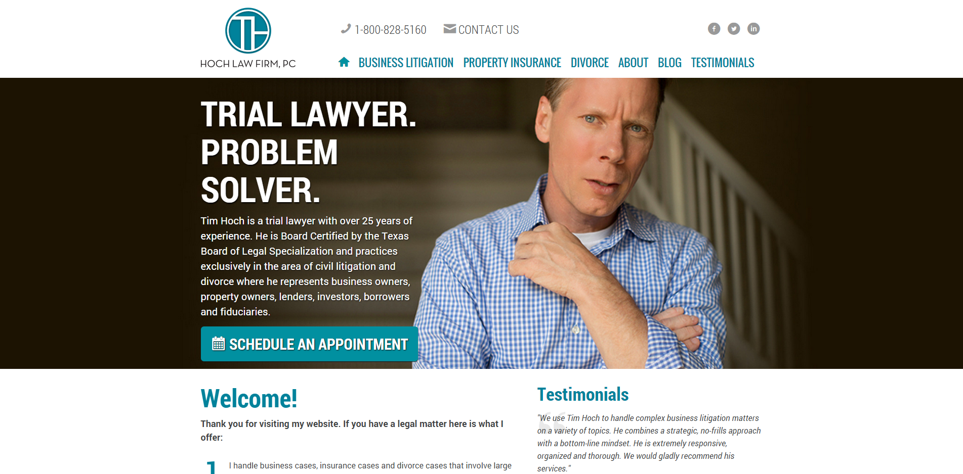 Hoch Law Firm Pc Tim Hoch Is A Trial Lawyer Who Specializes In