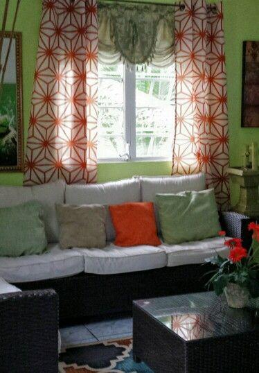 cortinas burlington coat factory 50×90 a tan sólo $16.99