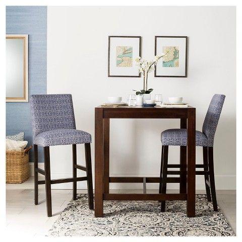 Ordinaire Parsons Bar Table Wood/Mahogany   Threshold™