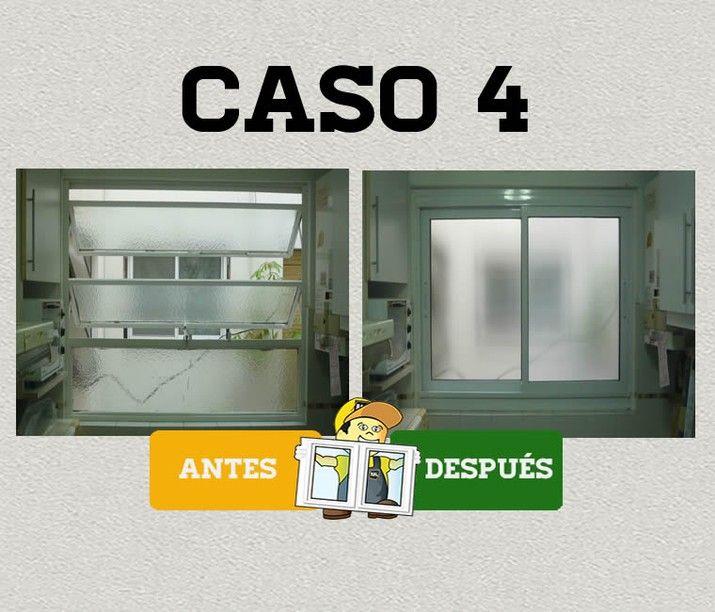 Renovaci n de ventanas ral aluminio aberturas de for Ventanas de aluminio para cocina