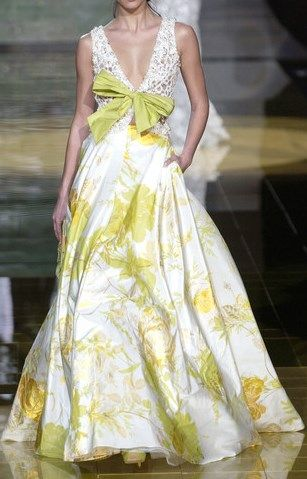 ELIE SAAB Haute Couture Spring 2006 ~✿Ophelia Ryan✿~