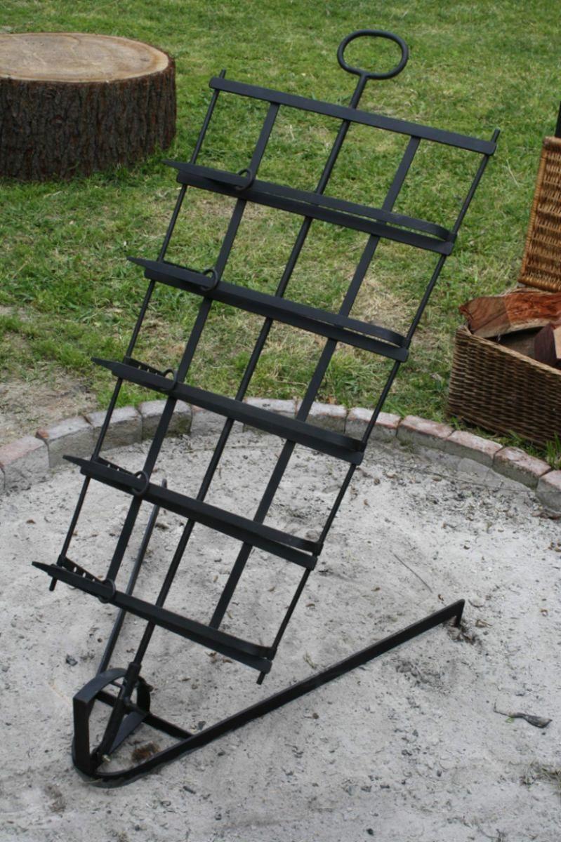 Asador criollo muy robusto 50 x 90 cm 520 00 en - Como hacer un asador ...