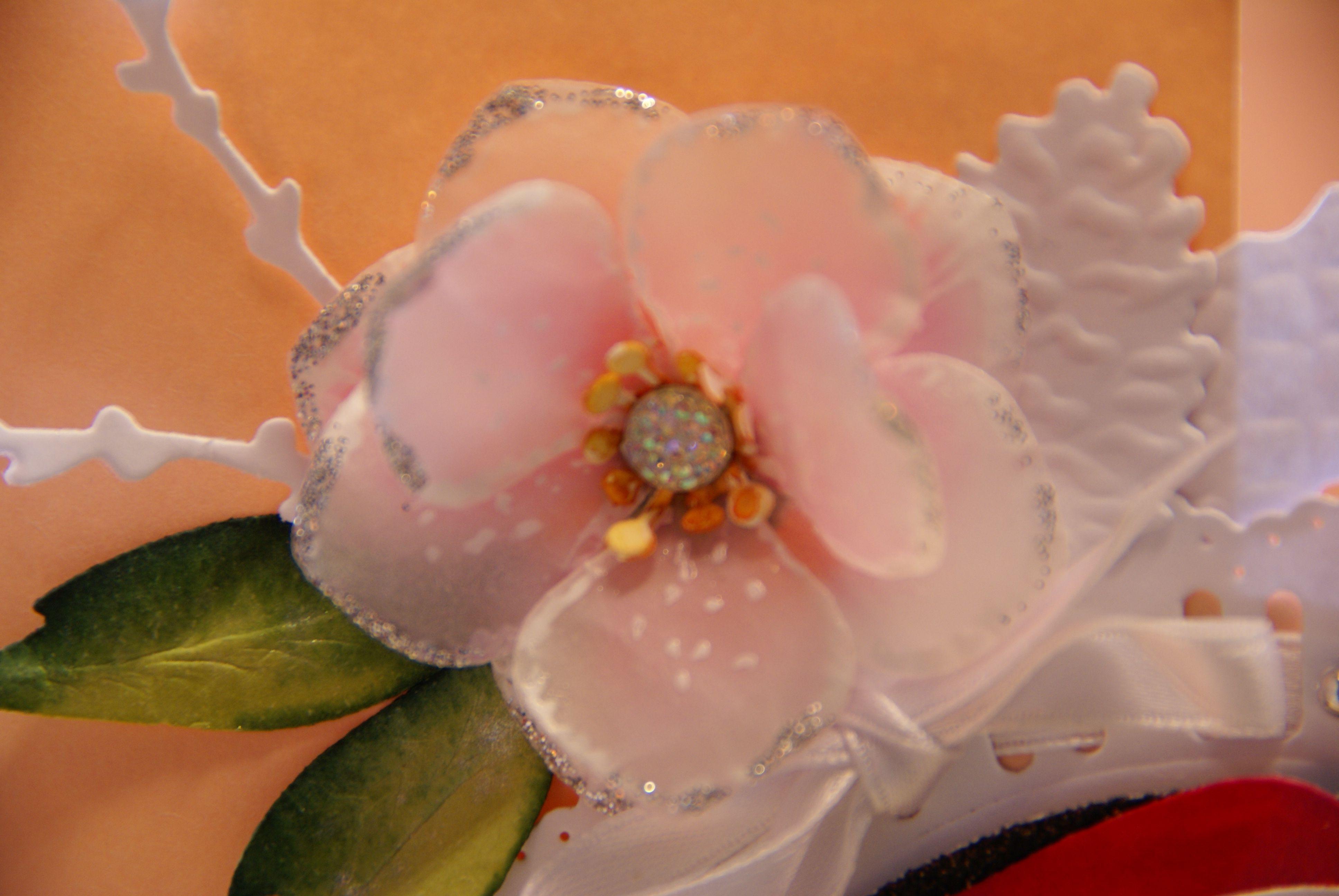Handmade Flower Of Parchment Paper Handmade Paper Flowers
