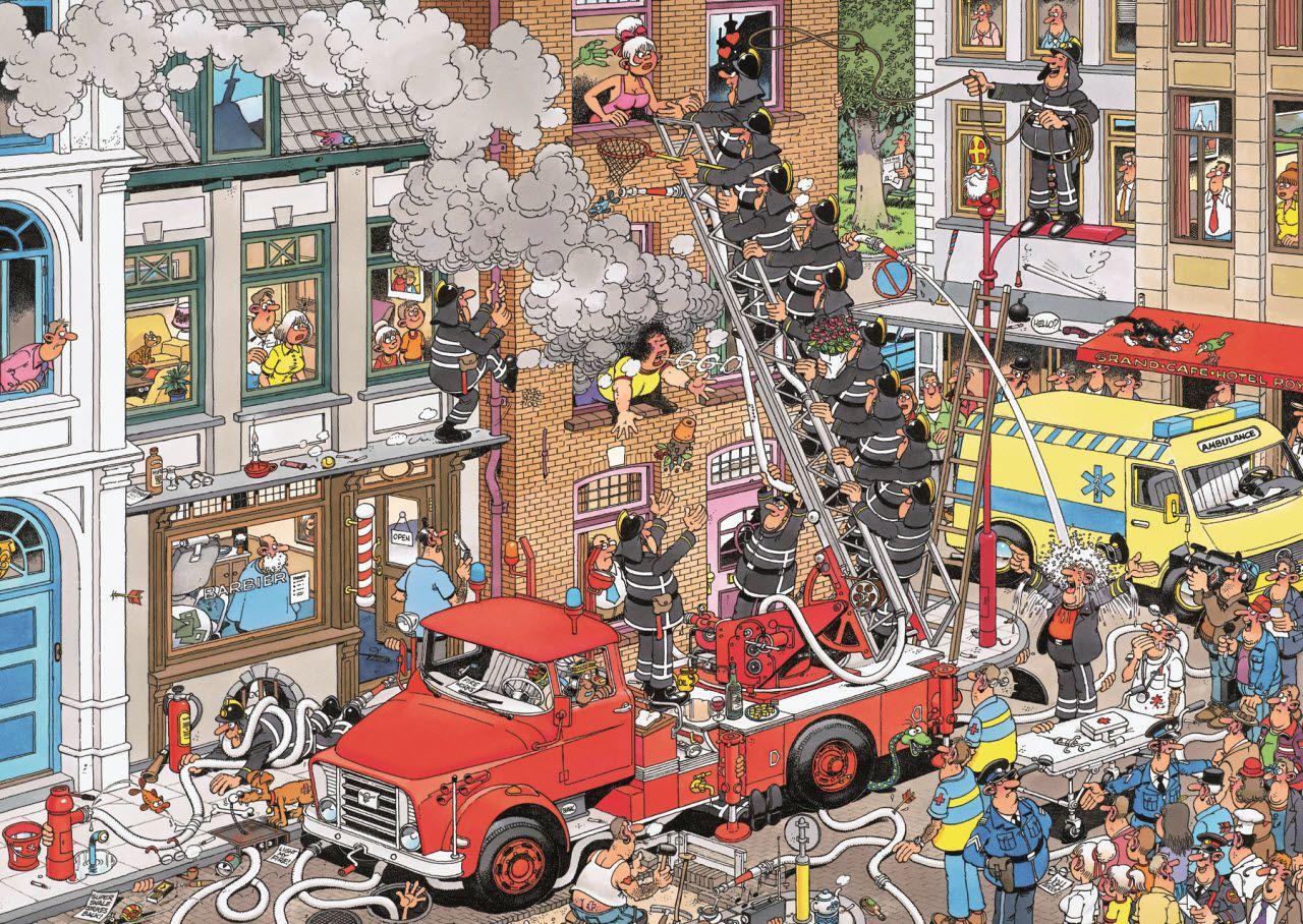 Illustrations Jan Van Haasteren Legpuzzels Puzzelkunst Puzzel