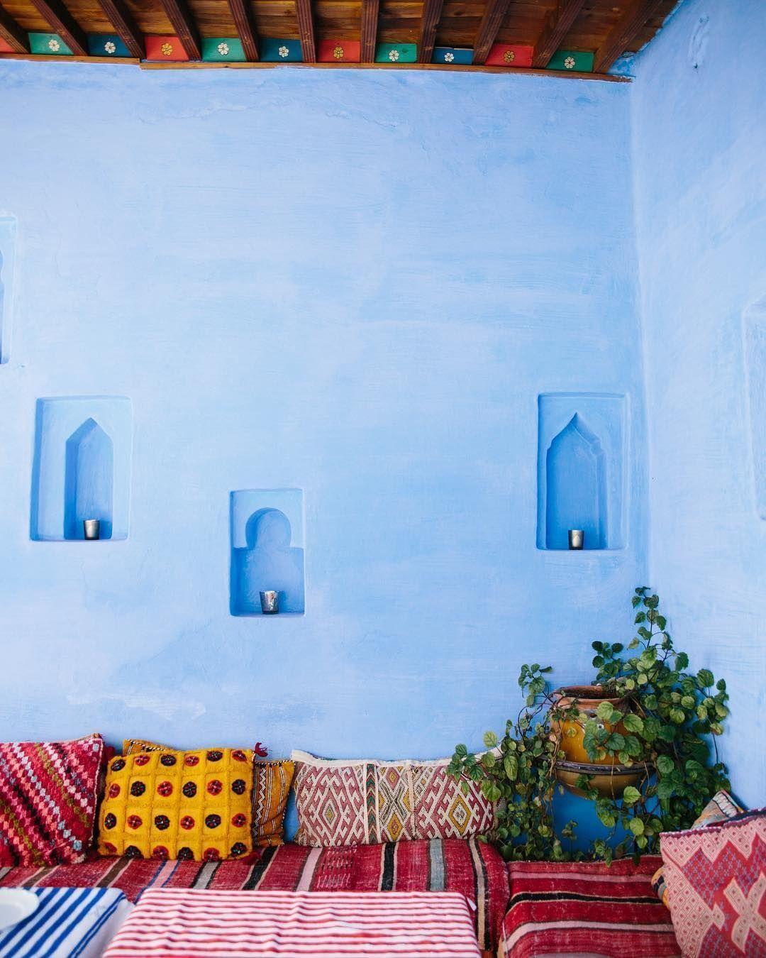 Terrasse façon riad marocain