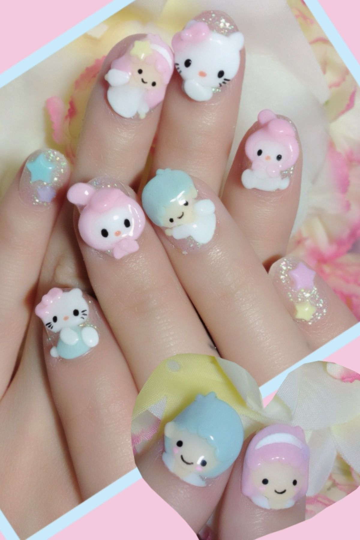 Sanrio Nail Art By Nakayama Chieko Makeup And Cosmetics