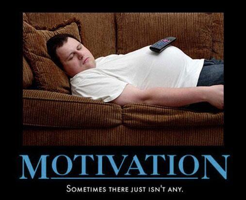 MOTIVAÇÃO: Às vezes simplesmente não há.