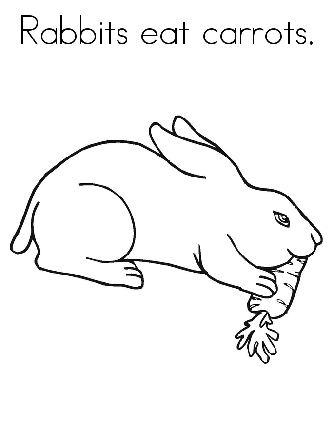 bunny coloring pages (with images) | animal coloring pages