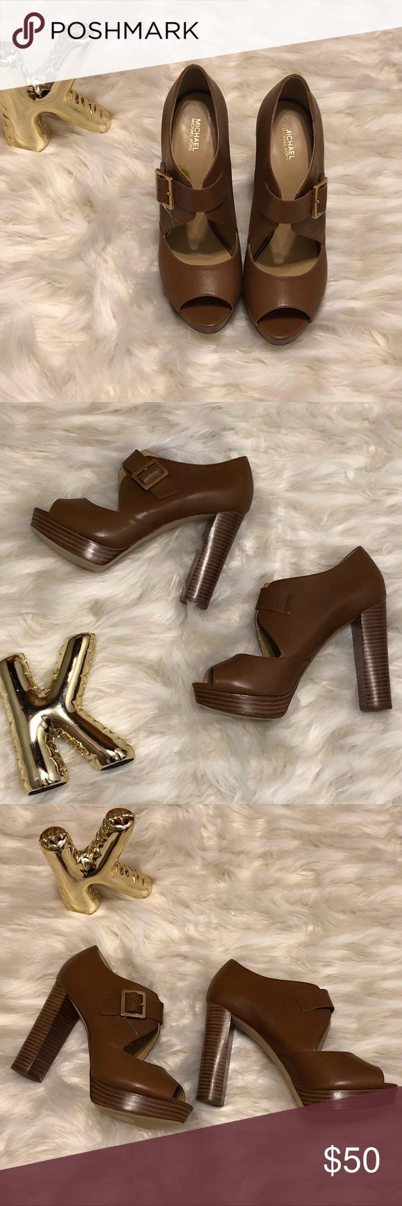 8c83430f445 Spotted while shopping on Poshmark  NWOT Michael Kors platform heels!   poshmark  fashion  shopping  style  MICHAEL Michael Kors  Shoes