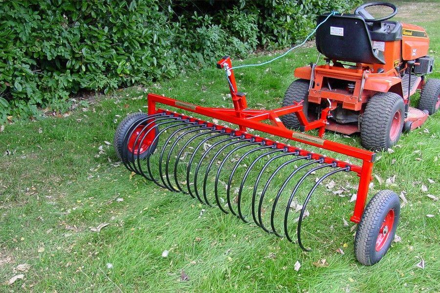 Garden Tractor Landscape Rake Zandalus