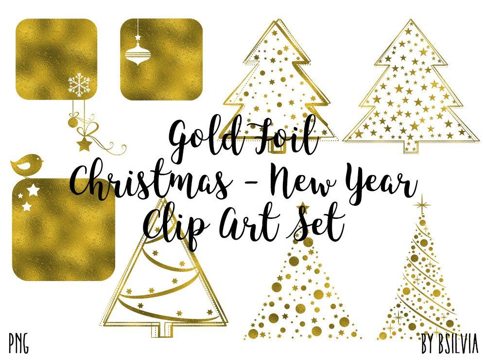 excited to share the latest addition to my etsy shop gold foil christmas clip