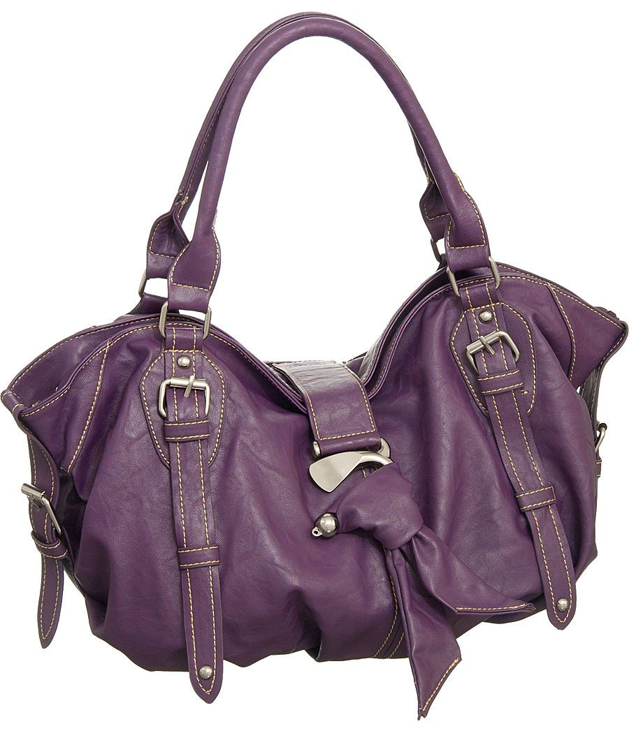654dbd05ea7a Purple Large Big Natalia Soft and Slouchy Hobo Designer L
