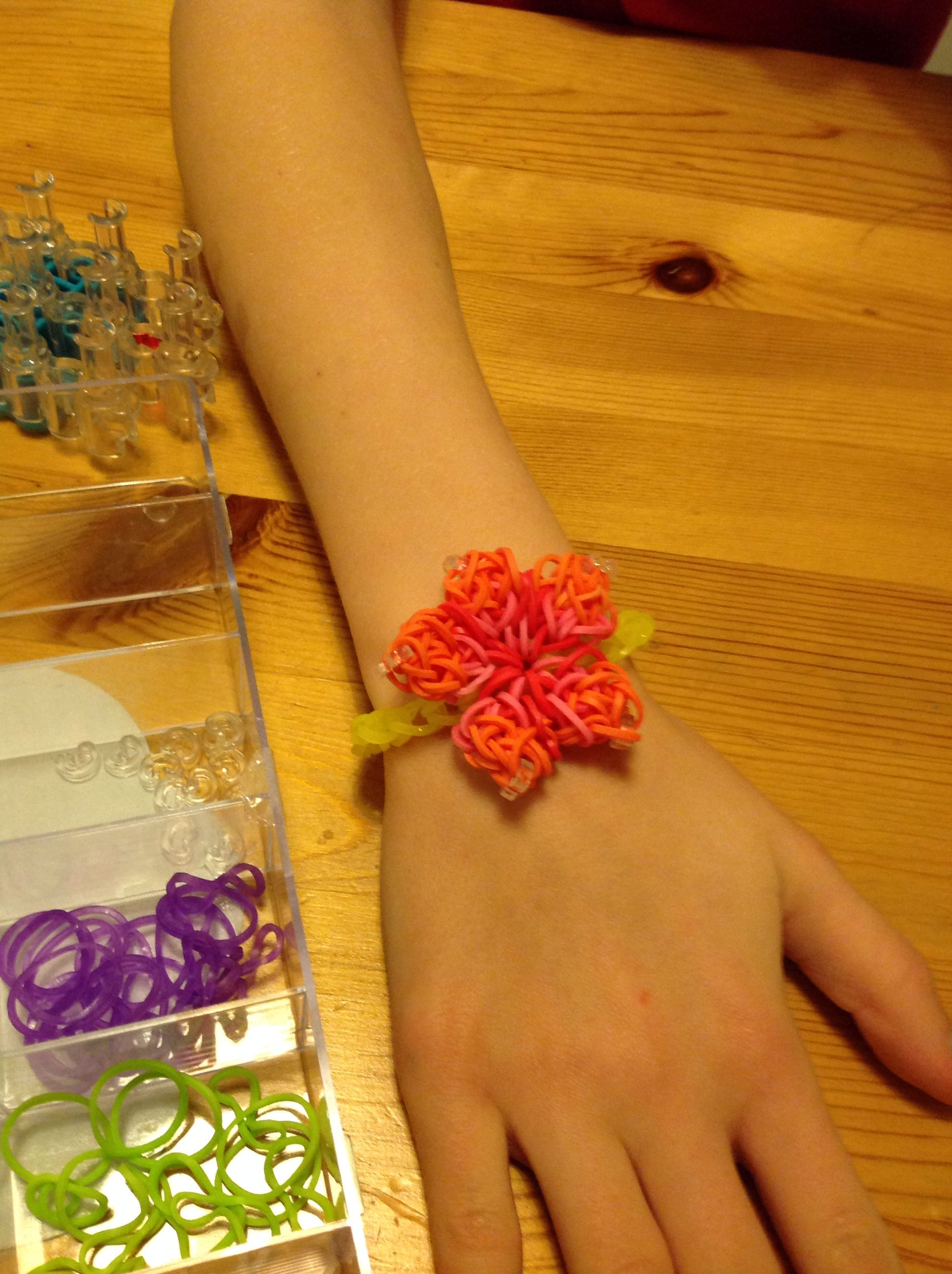 fun loom watch bracelet hibiscus youtube with