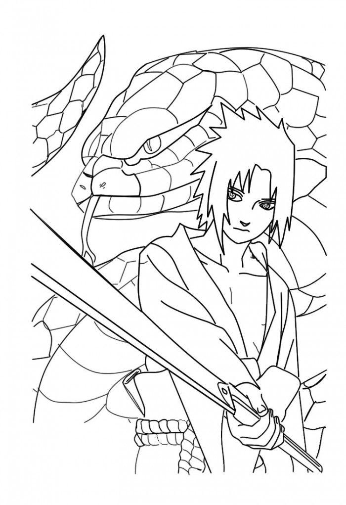 Naruto Shippuden Para Coloring