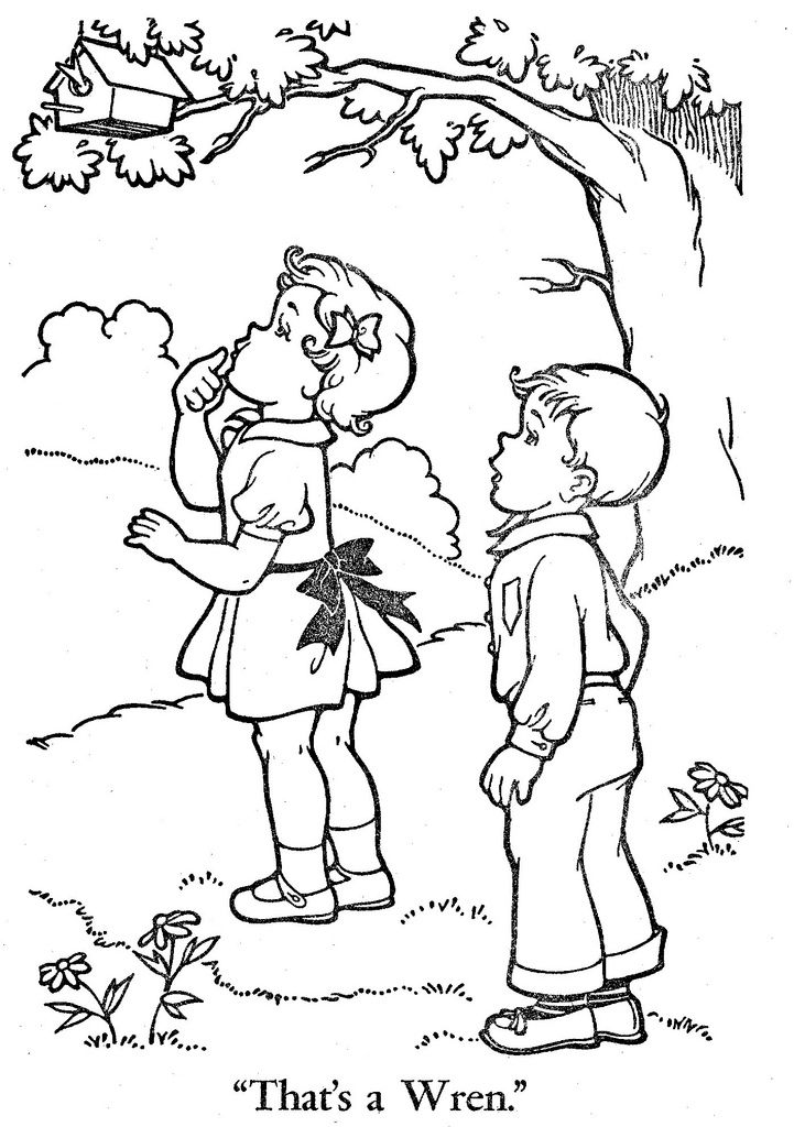 Lots To Color Page 9 Vintage Coloring Books Coloring Books Free Kids Coloring Pages