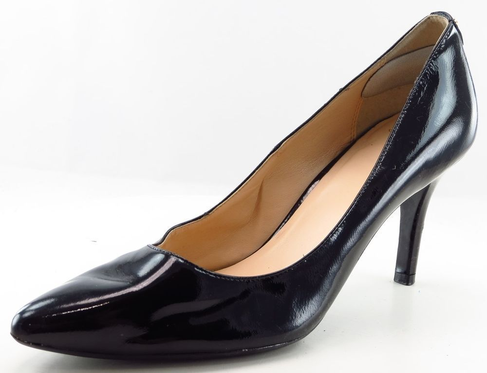 d6d052927f4 Cole Haan Grand.Os Pumps Black Leather Women Shoes Size 9 Medium ...