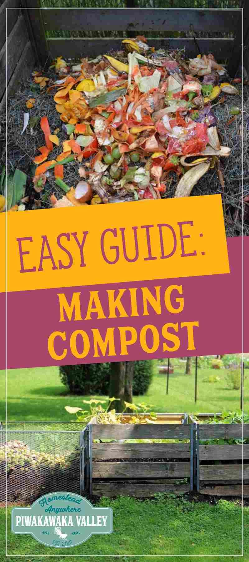 The Easy Guide To Starting A Compost Pile Garden Compost