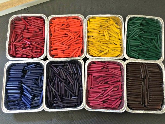 ever wondered what happens to all those restaurant crayons