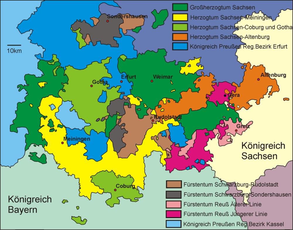 Thueringen Thuringian States Wikipedia In 2020 Family History Center Genealogy Germany
