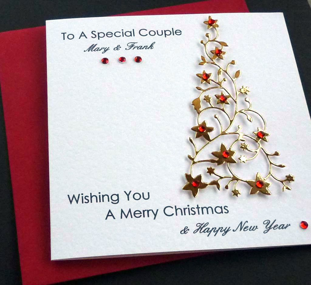 Handmade Christmas Greeting Cards Designs Handmade