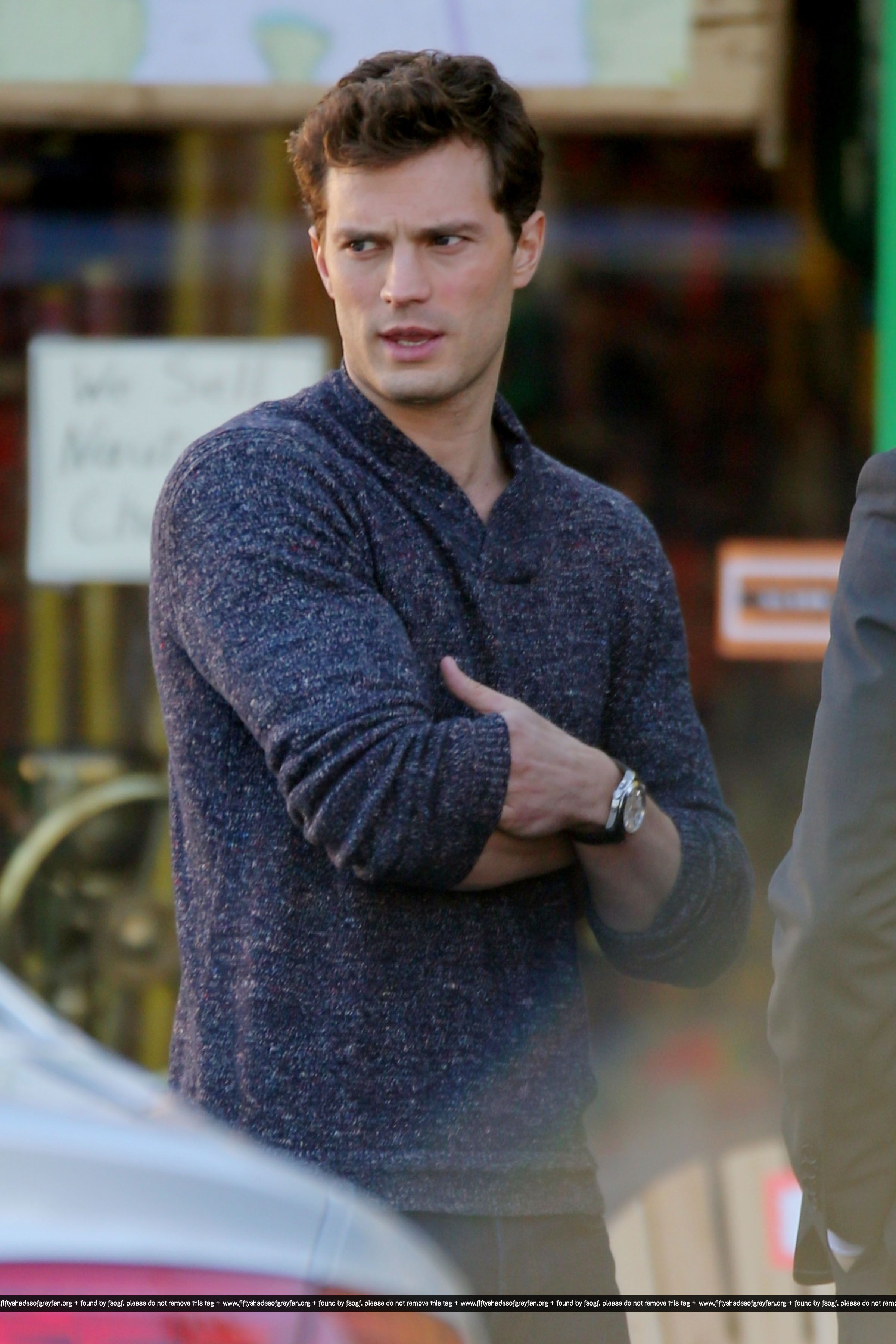 Fifty Shades Of Grey On Set 22nd January In 2020 Shades Of