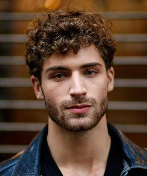 Curly Hairstyles Men Extraordinary Trendy Curly Hairstyles For Men 2017  2018  Pinterest  Curly