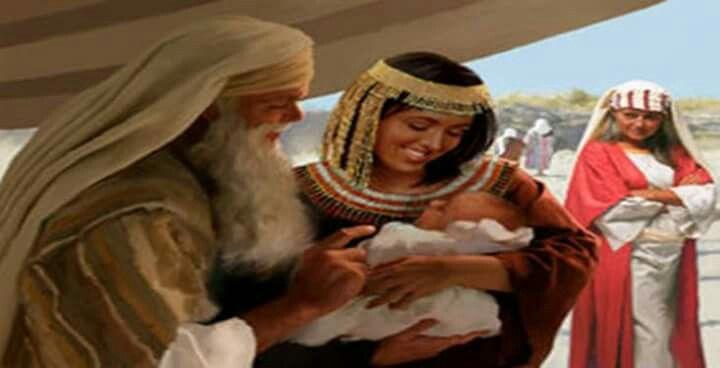 Y Agar dió a luz un hijo a Abram y llamo Abram el nombre del hijo que le dió Agar, Ismael. Era Abram de edad de ochenta y seis años, cuando Agar dió a luz a Ismael. Génesis 16:15-16