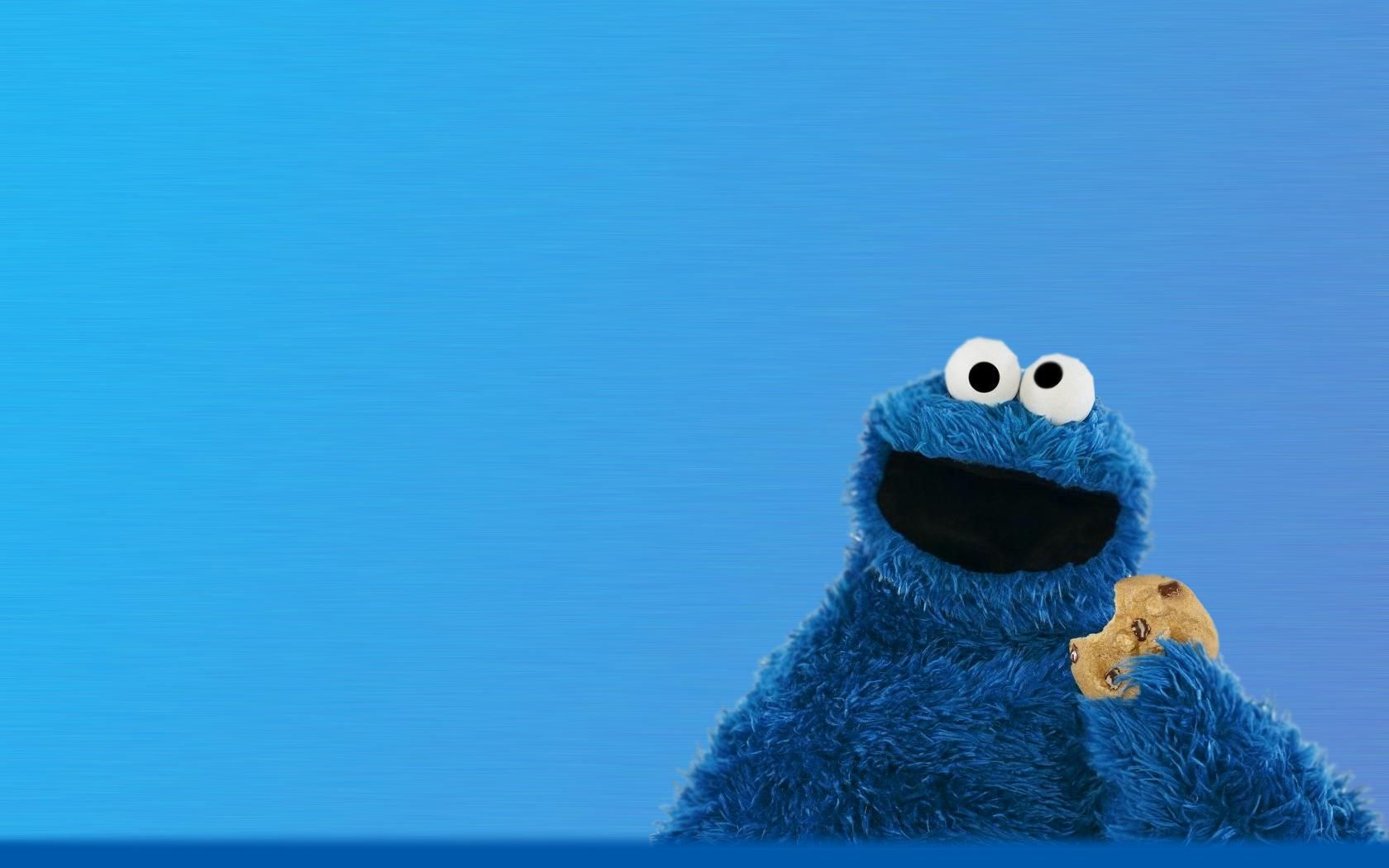 Cookie Monster Monster Cookies Cookie Monster Wallpaper Blue Cookies
