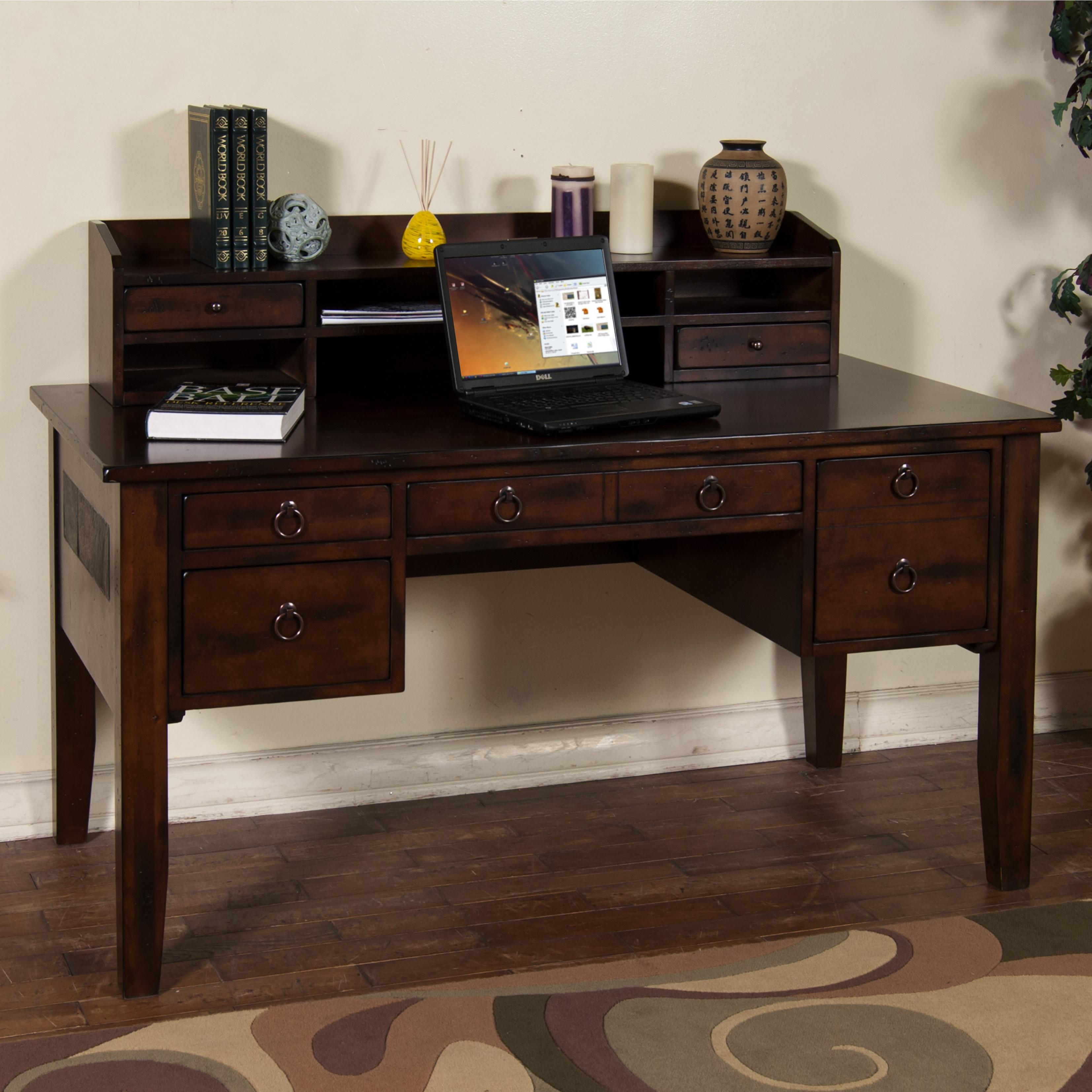 desk kathyirelandhomebymartianhuntingtonoxforddeskforlhfburnish cfm executive oxford huntington hutch furniture hayneedle computer burnished shaped handed left with martin l master product and