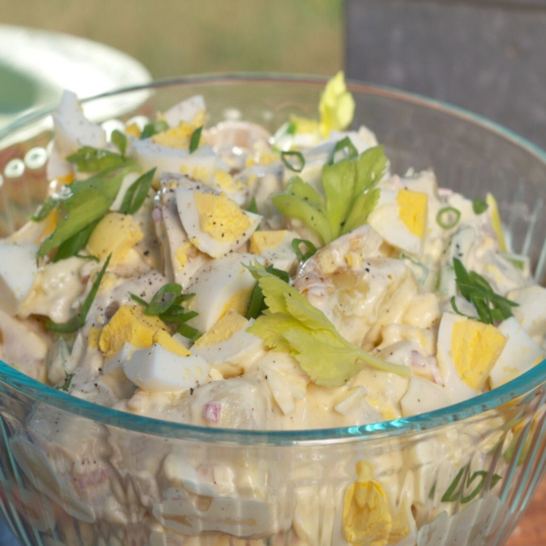 Creamy Potato Salad Recipe in 2020 Creamy potato salad