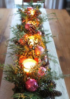 Centros de mesa navide os modernos adornos navide os centros de mesa navide os adornos - Adornos de navidad caseros faciles ...