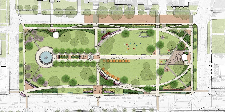 Afbeeldingsresultaat Voor Mixed Style Landscape Plan Landscape Plan Landscape How To Plan