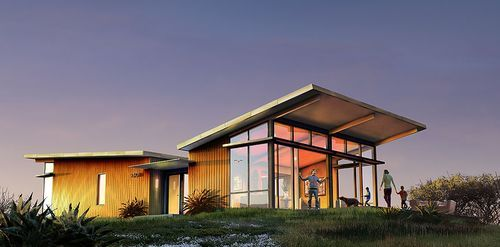 Single Slope Roof Small House Design Pinterest Prefab Homes Modern Prefab Homes Prefab Homes Stillwater Dwellings