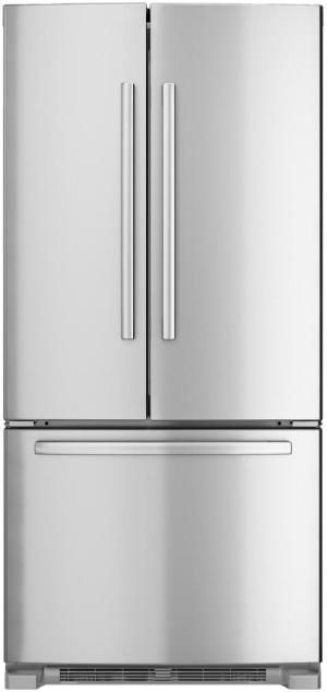 B22ft80sns In Stainless Steel By Bosch In Bridgewater Nj 33 Standard Depth French Door Bottom Freezer 8 With Images Refrigerator Glass Shelves French Door Refrigerator