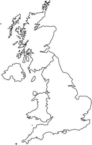 Outline Map Of Uk Great Britain | wielka Brytania | Uk outline, Map of great britain