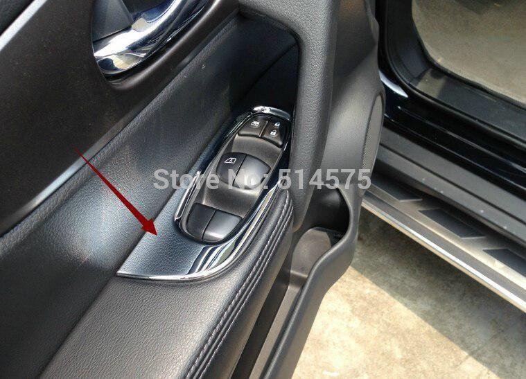 For Nissan X Trail 2014 Left Hand Drive Car Inner Door Handle Holder Us 24 53 Door Handles Interior Accessories Nissan